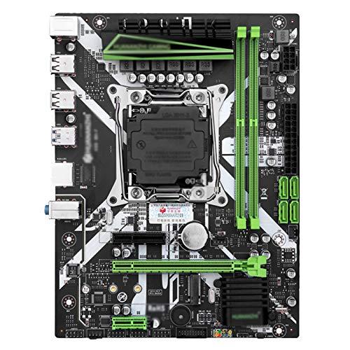 Tablero de reemplazo de computadora Placa Base De La Placa Base X99 Con Xeon E5 2620 V3 2 * 8G DDR4 2666 Kit Combo De Memoria No ECC Conjunto NVME USB3.0 ATX Server Placa base de computadora de escrit