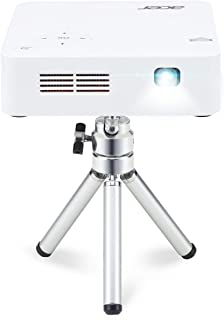 Acer C202i Fwvga (854 x 480) LED 300 ANSI Lumens, 16: 9 Aspect Ratio Portable Wireless Projector with Tripod