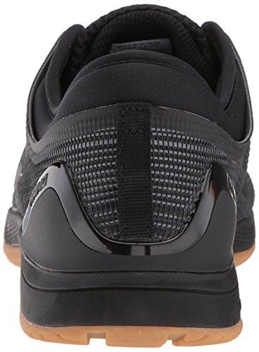 Reebok Crossfit Nano 8.0 Flexweave Baskets pour homme, Noir (Noir/alliage/caoutchouc.), 41.5 EU