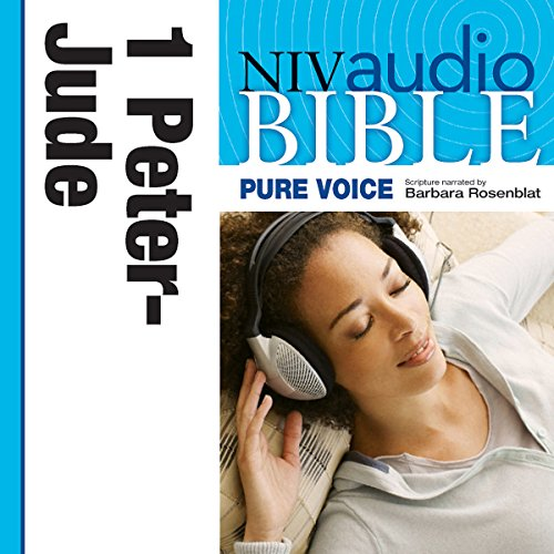NIV New Testament Audio Bible, Female Voice Only: 1 and 2 Peter, 1, 2 and 3 John, and Jude audiobook cover art