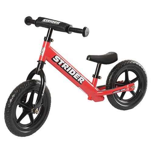 Strider ST-4 No-Pedal Balance Bike, For 18 mos.- 5 years, Red