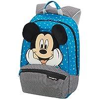 Samsonite Disney Ultimate 2.0 Mochila 35 cm, 12 L, Azul (Mickey Letters)