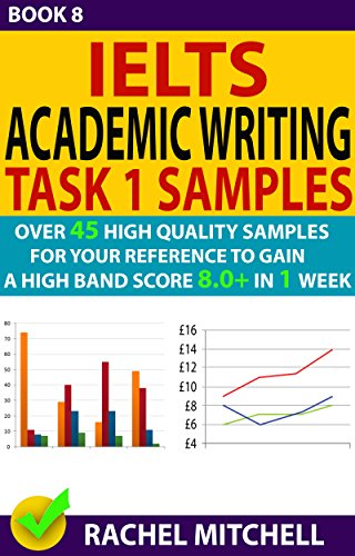 Ielts Academic Writing Task 1 Samples : Over 45 High Quality Samples for Your Reference to Gain a High Band Score 8.0+ In 1 Week (Book 8) (English Edition)