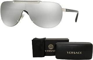 Versace VE2140 Pilot Sunglasses For Men For Women+FREE Complimentary Eyewear Care Kit