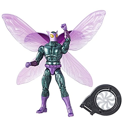 Marvel Legends Spider-Man Beetle Action Figure (Build Vulture's Flight Gear), 6 Inches