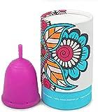 FXNB Limpiador De Copa Menstrual, Copa Menstrual Reutilizable Cómoda, Almacenamiento para Recipientes De Lavado De Copa Menstrual, Copa Menstrual para Mujeres Principiantes, Set para Enf