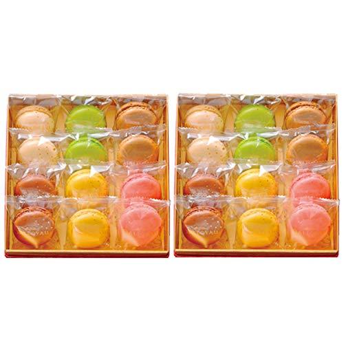 ダロワイヨ マカロン 詰合せ 12個入 2箱 (6種×各2)×2 焼き菓子 洋菓子 スイーツ 東京