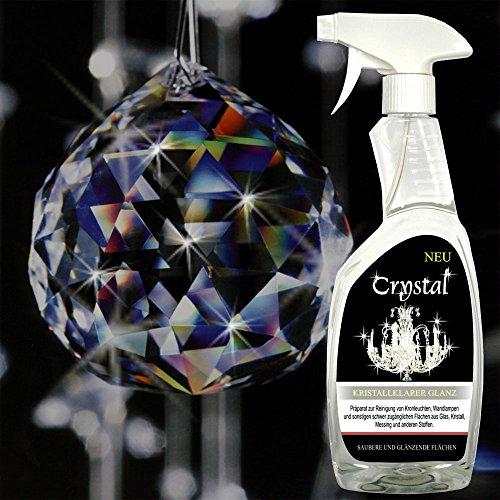 \'Crystal\' Spezial Reiniger 750ml für Kronleuchter, Lüster, Wandlampen, Candelaber