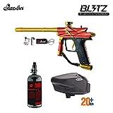 Maddog Azodin Blitz 3 HPA Paintball Gun Package - Orange