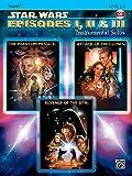 Star Wars Episodes I, II & III Instrumental Solos: Trumpet, Book & CD
