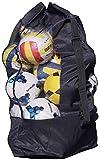 Sac à Ballon Filet de Ballon Sac en Maille pour Boule Grande Capacité de 15-20 Ballons Sac de Transport pour Basket-ball Football Volley-ball Sac Bandoulière Rangement des équipements de Sport Plage