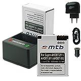 PATONA Cargador Doble (USB/Coche/Corriente) + 2X Baterías AHDBT-301/-302 [3.7V / 1000mAh] Compatible con GoPro Hero3 & Hero3+ Black White Silver Edition