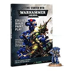 Games Workshop - Getting Started with Warhammer 40,000 (English) Everything you need to get started in the galaxy of Warhammer 40,000, this magazine is the perfect purchase for the absolute beginner who'd like to dip their toes in the hobby of collec...