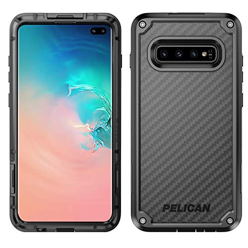 Pelican Shield Samsung Galaxy S10+ Phone Case, 5-Layer Extreme Protective Smartphone Cover, 12-Foot Drop Protection…