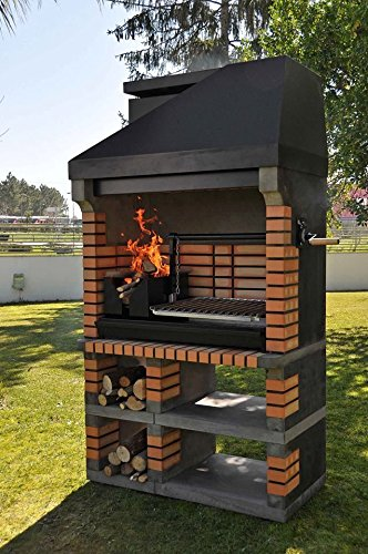 Callow Pan American Brick Masonry BBQ Grill - The Ultimate in Wood fired BBQ Grilling