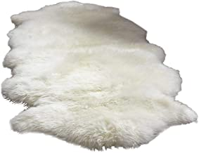 King Queen Fur Artificial Sheepskin Rug, 60 x 180 cm