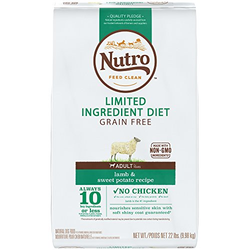 NUTRO Limited Ingredient Diet Natural Adult Dry...