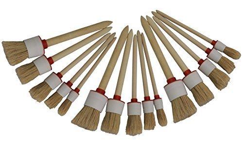 30 x Ringpinsel, Rundpinsel, Malerpinsel, Reinigungspinsel, Lackpinsel