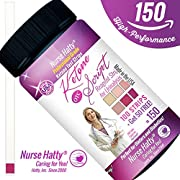 Nurse Hatty - Ketone Strips 150ct. - New & Improved - U.S.A. Made - High Performance - Perfect for Ketogenic, Low Carb, Atkins & Paleo Diets + 38pg. Keto eBook - Urine Ketone Test (100ct. + 50 FREE)