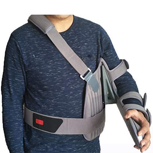 Cabestrillo brazo, hombro ajustable conjunta Secuestro ortesis, manguito de los rotadores del hombro apoyo de la ayuda, la fractura del esguince de apoyo de la recuperación fijo Rehabilitación