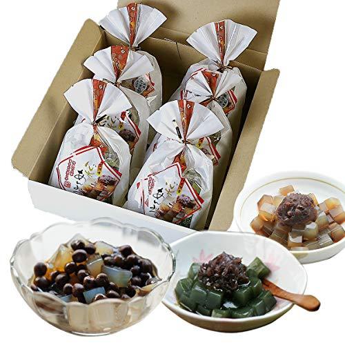 伊豆河童 豆てん あんみつ 6個セット 箱入り 和スイーツ 餡蜜 北海道産 赤えんどう豆使用 ギフト向け
