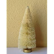 "Bottle Brush Christmas Village 6"" Natural Sisal Tree"