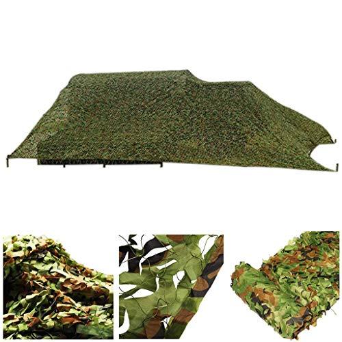 YINUO Army Net camuflaje militar reforzado verde toldo para caza camping jardín Gazebo terraza invernadero pérgola decoración 3x4m 6x8m 12m 10m Sombra velas Telas Sun Shade para patio