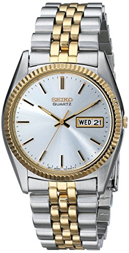 Seiko Men's SGF204 Stainless Steel Two-Tone Watch