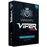 Estimulante Masculino Viaman Viper Pro 10 Cápsulas - Potenciador Masculino Super Fuerte con Vitamina B, Aumento del Rendimiento, Testosterona Pura Para Hombres, Suplemento Vitamínico Natural Vegano