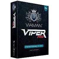 Estimulante Masculino Viaman Viper Pro 10 Cápsulas - Potenciador Masculino Su...