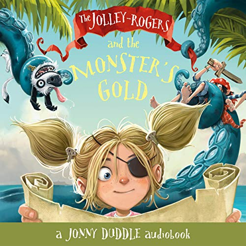 The Jolley-Rogers and the Monster's Gold cover art