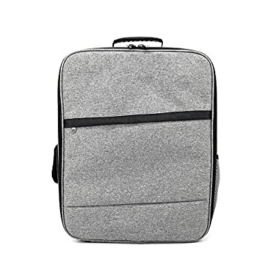 TOOGOO Bag For XIAOMI Mi 4K 1080P FPV Drone RC Quadcopters Carry Bags Outdoor Backpack Shockproof Shoulder Bag Suave Free Drop(gray)