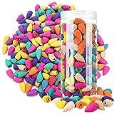Osuter 150PCS Conos de Incienso de Reflujo Natural Incienso Reflujo Conos Aromaterapia Incienso para Ayuda a Relajación y Meditación(Mezclado)