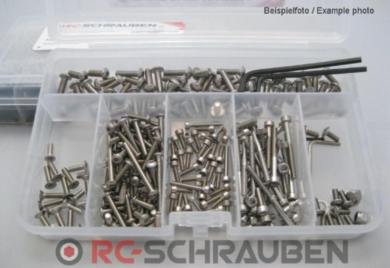 Schrauben-Set für den Robitronic BR50 Trophy -Edelstahl- B00HTAON7U  Roman | Preisreduktion