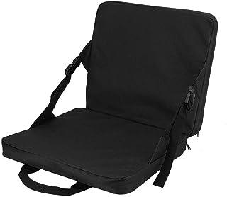 Almohadilla para exteriores - Cojín para silla plegable multiusos para exteriores con respaldo