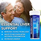 NoMoreDrinks Alcohol Cravings Reducer - Stop Drinking Alcohol Supplements & Liver Detox with Milk Thistle, Dandelion Root & Kudzu Root for Liver Support - 7 Packs #2
