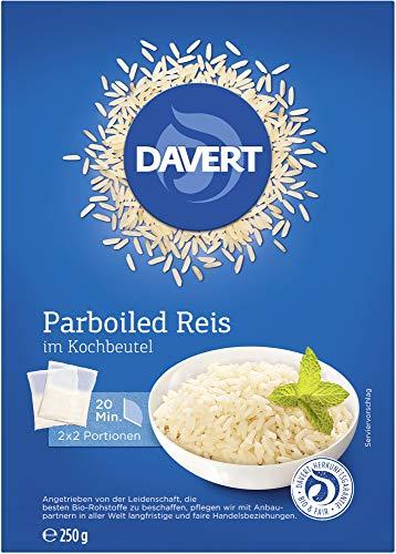 Davert Bio Parboiled Reis im Kochbeutel (6 x 250 gr)