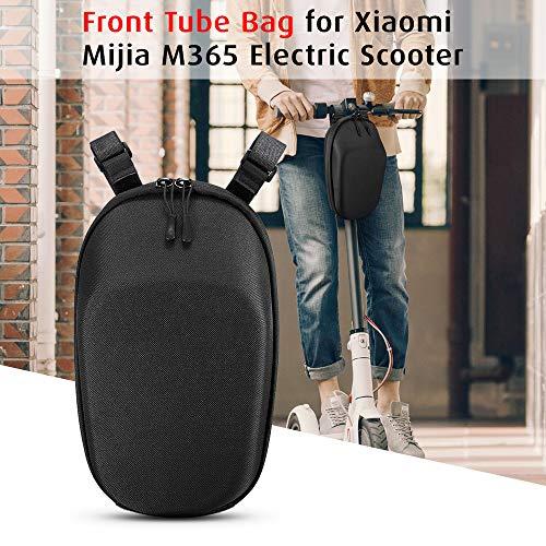 Blusea Bolsa de Tubo Frontal de Scooter Bolsa de Gran Capacidad Bolsa para Xiaomi Mijia M365 Eléctricos Scooters (Nueva versión) (3L Clásico)