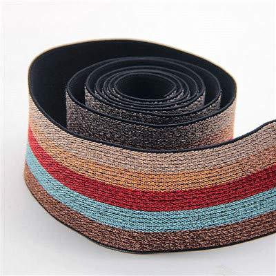 Elastische strook 40 mm leopard elastische banden bestendige elastiek voor naaiaccessoires DIY 1M,champagne