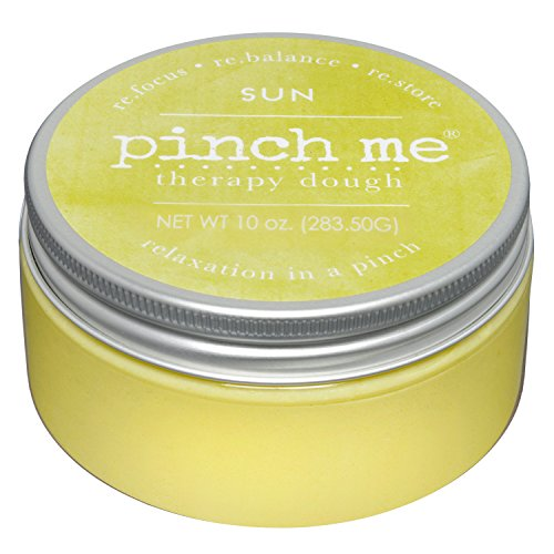 Pinch Me Therapy Dough - Holistic Aromatherapy Stress Relieving Putty - 10 Ounce Sun Scent