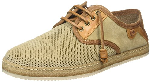 NOBRAND Da, Herren Sneakers, Beige (cappuccino), 43 EU (8.5 Herren UK)