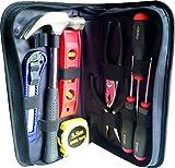 Estuche set de Herramientas Ekeko Home Survival Briefcase. Practico set de herramientas para cualquier emergencia en el hogar, coche, autocaravana.