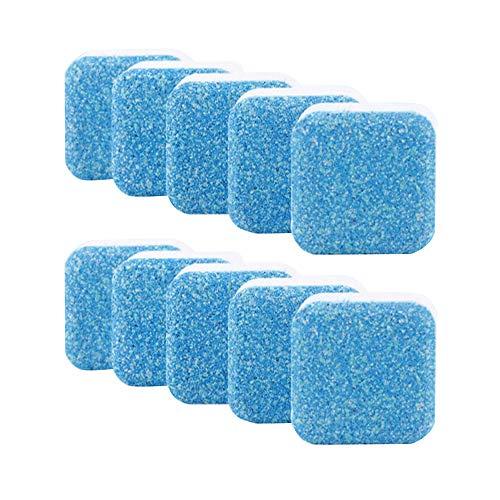 TAORANG Limpiador de lavadora 10/50/100 piezas, tabletas de lavadora, descalcificador de moho, elimina cal, limpieza profunda, descalcificador de tina efervescente, limpieza profunda duradera
