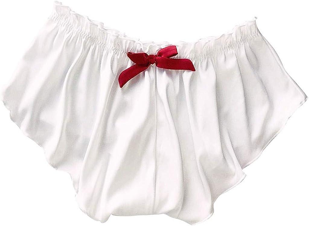 WSVVMQY 2021 Silk Satin Sexy Flowers Floral Lace Pajamas Underwear Women Shorts S-XXXL