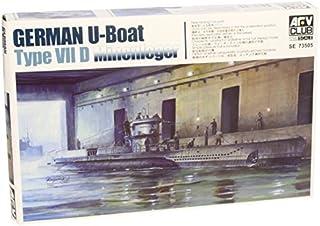 U-Boat VII D Minelayer Submarine 1-350 AFV Club by AFV Club Models