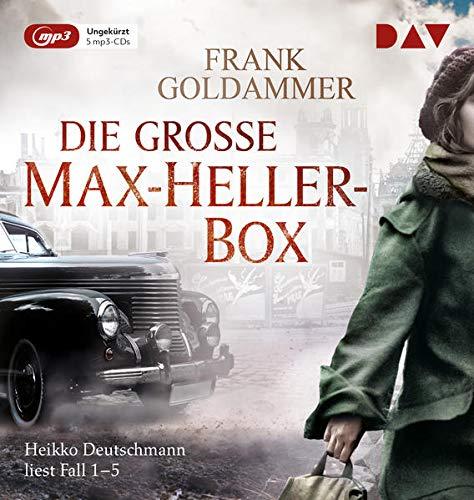 Die große Max-Heller-Box: Ungekürzte Lesungen der Fälle 1 bis 5 mit Heikko Deutschmann (5 mp3-CDs)