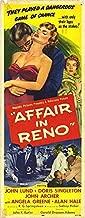 Affair In Reno - Authentic Original 14x36 Movie Insert
