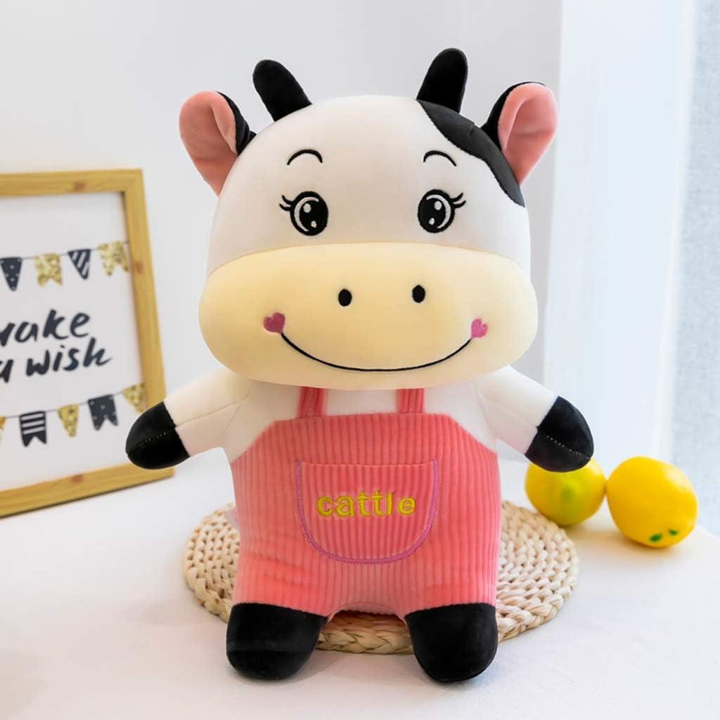 WSSBK favorite Chicago Mall Cute Cow Doll Plush Cotton Toy Down Soft Cartoon
