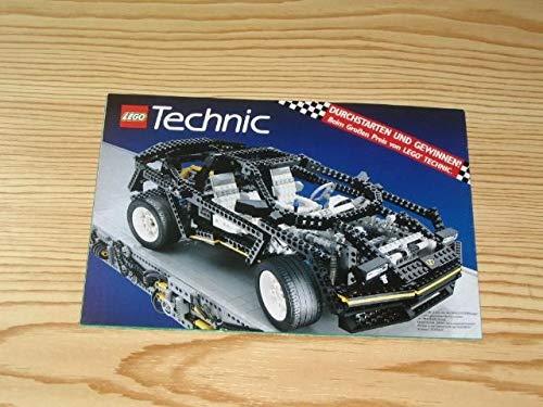 LEGO Technic Durchstarten und gewinnen! Beim großen Preis der Lego Technic.