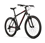 Raleigh Bikes Talus 2 Mountain Bike, 21' /XL Frame, Black, 21' / X-Large